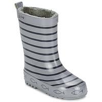 Chaussures Enfant Bottes de pluie Be Only TIMOUSS Gris / Marine