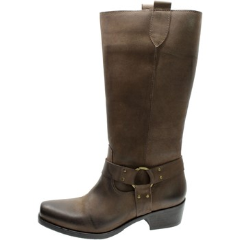 Chaussures Femme Bottes ville Illy 58968 Rosso