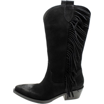Chaussures Femme Bottes ville Illy 95965 Nero