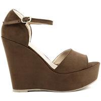 Chaussures Femme Sandales et Nu-pieds Made In Italia - beniamina Marron