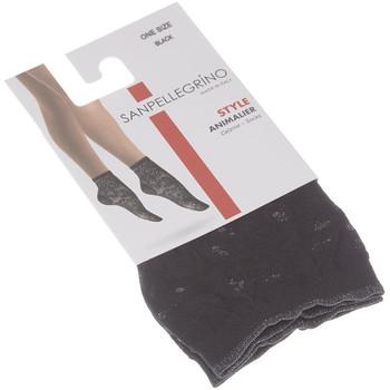 Sous-vêtements Femme Collants & bas Sanpellegrino Bas socquettes - Socquette 30D ANIMALIER Noir