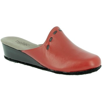 Chaussures Femme Sabots Heller Aborg Rouge
