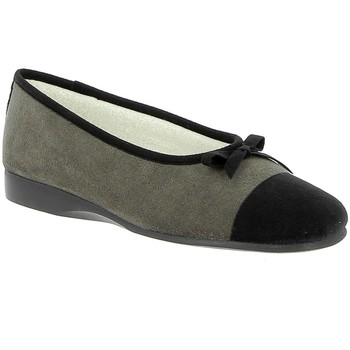Chaussures Femme Chaussons Exquise Elios Gris
