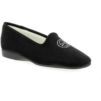 Chaussures Femme Chaussons Exquise Elisa Noir