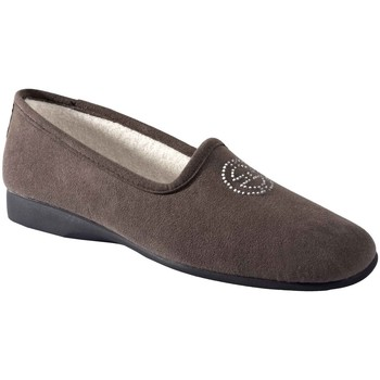 Chaussures Femme Chaussons Exquise Elisa Gris