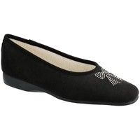 Chaussures Femme Chaussons Exquise Eval Noir