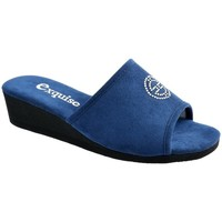 Chaussures Femme Chaussons Exquise Ynes Bleu nuit