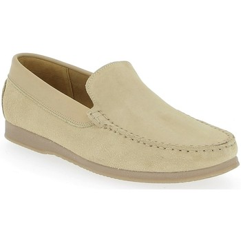 Chaussures Homme Mocassins Heller Patric Beige clair
