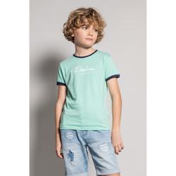Vêtements Garçon T-shirts manches courtes Deeluxe T-Shirt HYLTER Almond