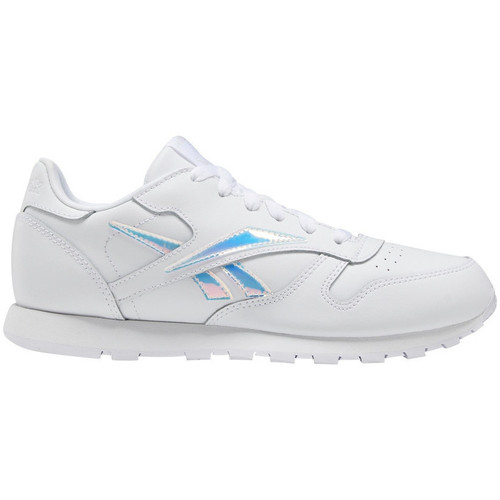 Chaussures Enfant Baskets basses Reebok Sport Classic leather Blanc