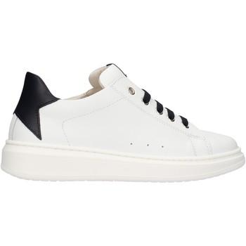 Chaussures Garçon Baskets basses Sho.e.b. 76 - Sneaker bianco/blu 1704-R15 BIANCO