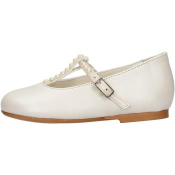 Chaussures Fille Ballerines / babies Oca Loca - Ballerina bianco 8041-11 BIANCO