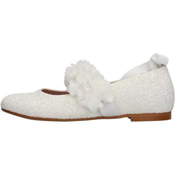 Chaussures Fille Baskets mode Oca Loca - Ballerina bianco 8047-11 BIANCO