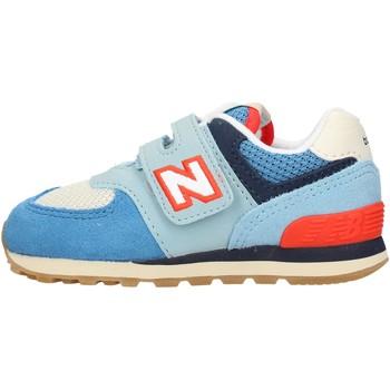 Chaussures Garçon Baskets basses New Balance - Iv574 azzurro IV574SOS AZZURRO