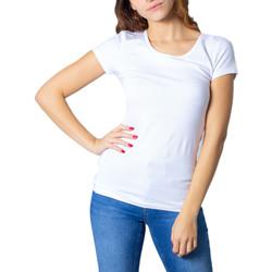 Vêtements Femme T-shirts manches courtes Only 15205059 Blanc