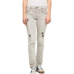 Vêtements Femme Jeans slim Diesel 00SSSI0676M02 Gris