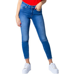 Vêtements Femme Jeans slim Only 15195681 Blue Denim