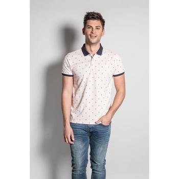 Vêtements Homme Polos manches courtes Deeluxe Polo SAXON Flamingo