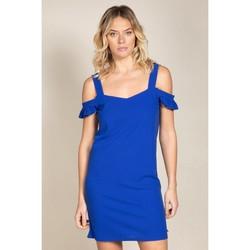 Vêtements Femme Robes courtes Deeluxe Robe GABRIELLE King Blue