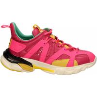 Chaussures Femme Baskets basses La Carrie Shoes SNEAKER ALLACCIATA fuxia