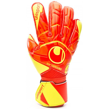 Accessoires textile Enfant Gants Uhlsport Dynamic Impulse Soft Flex Frame Enfant Dynamic orange-Fluor yellow-Black