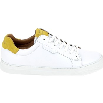 Chaussures Homme Baskets basses Schmoove Spark Clay Blanc Safran Blanc