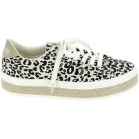 Chaussures Femme Baskets basses No Name Malibu Twill Leopard Multicolore