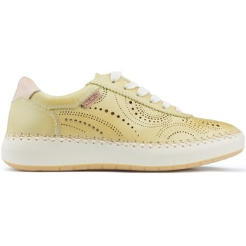 Chaussures Femme Baskets basses Pikolinos Chaussures  MESINA W6B YELLOW