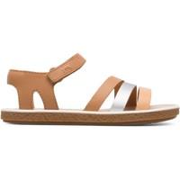 Chaussures Fille Sandales et Nu-pieds Camper Sandales cuir Miko multicolor