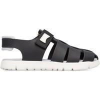 Chaussures Garçon Sandales et Nu-pieds Camper Sandales cuir Oruga Sandal noir