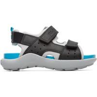 Chaussures Garçon Sandales et Nu-pieds Camper Sandales cuir Wous noirbleu