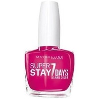 Beauté Femme Vernis à ongles Maybelline New York Vernis SUPERSTAY - 180 Rose Fuchsia Autres