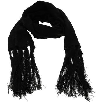 Accessoires textile Homme Echarpes / Etoles / Foulards K-Up Tricot jacquard echarpe noire Noir
