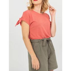 Vêtements Femme T-shirts manches courtes TBS TICTOTEE Rose