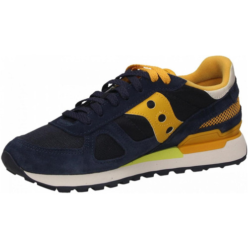 Saucony SHADOW ORIGINAL navy-mustard - Chaussures Baskets basses Homme 125,00 €.