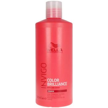 Beauté Femme Shampooings Wella Invigo Color Brilliance Shampoo Coarse Hair  500 ml