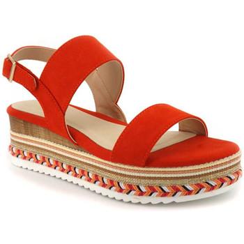 Chaussures Femme Sandales et Nu-pieds Elue par nous Gorette Multicolor