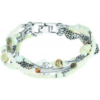 Montres & Bijoux Femme Bracelets Franck Herval Bracelet  collection 'Opaline' 13--60883 Noir