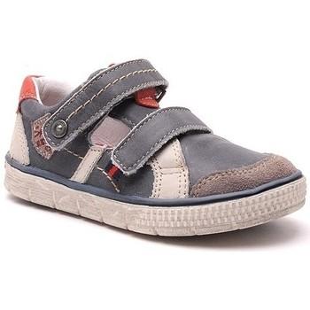 Chaussures Garçon Baskets basses Noel salomé vlad bleu