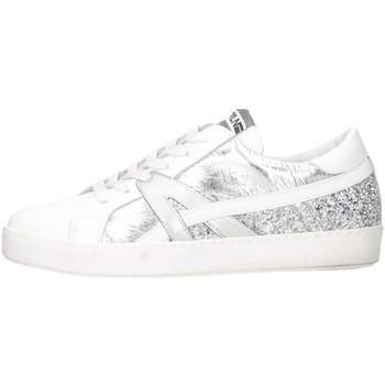 Chaussures Femme Baskets basses Meline INC 1362 Blanc / Argent