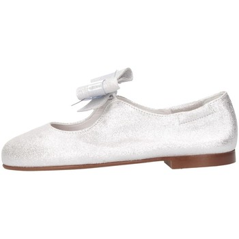 Chaussures Fille Ballerines / babies Papanatas 44003AA argent