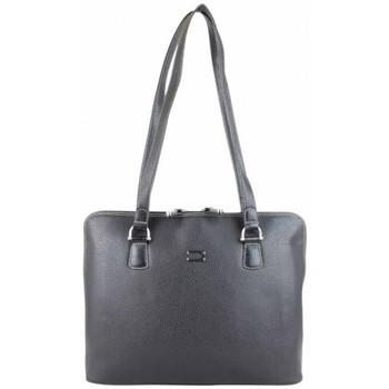Sacs Femme Cabas / Sacs shopping Duolynx Sac cabas arrondi  Noir Multicolor