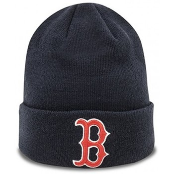 Accessoires textile Bonnets New-Era BONNET  MLB ESSENTIAL BOSTON REDSOX / BLEU MARINE Bleu marine