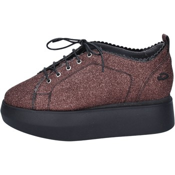 Chaussures Femme Baskets basses Guardiani sneakers glitter rouge