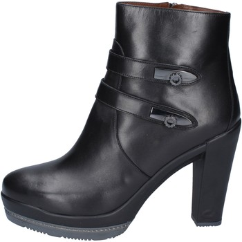 Chaussures Femme Bottines Guardiani bottines cuir noir