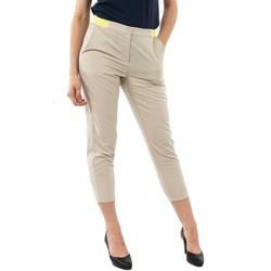 Vêtements Femme Chinos / Carrots Gertrude + Gaston flore saturn beige