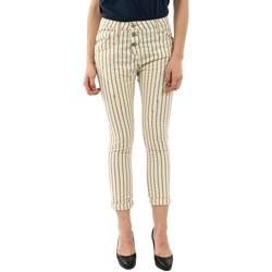 Vêtements Femme Pantalons 5 poches Please p78z 2188 panna/oro beige