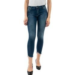Vêtements Femme Jeans skinny Please p93o 1670 blue denim bleu
