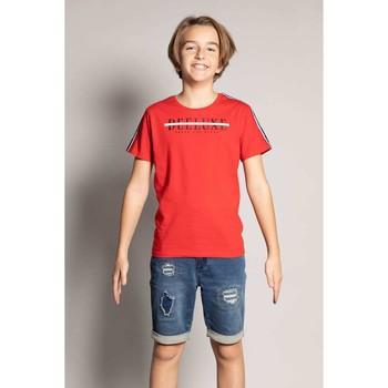 Vêtements Garçon T-shirts manches courtes Deeluxe T-Shirt RALF Red
