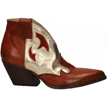 Chaussures Femme Bottines Elena Iachi WASH cuoio-platino